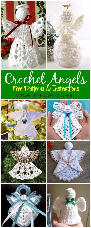 33 Great Crochet Angel Patterns Crochetnstyle Com