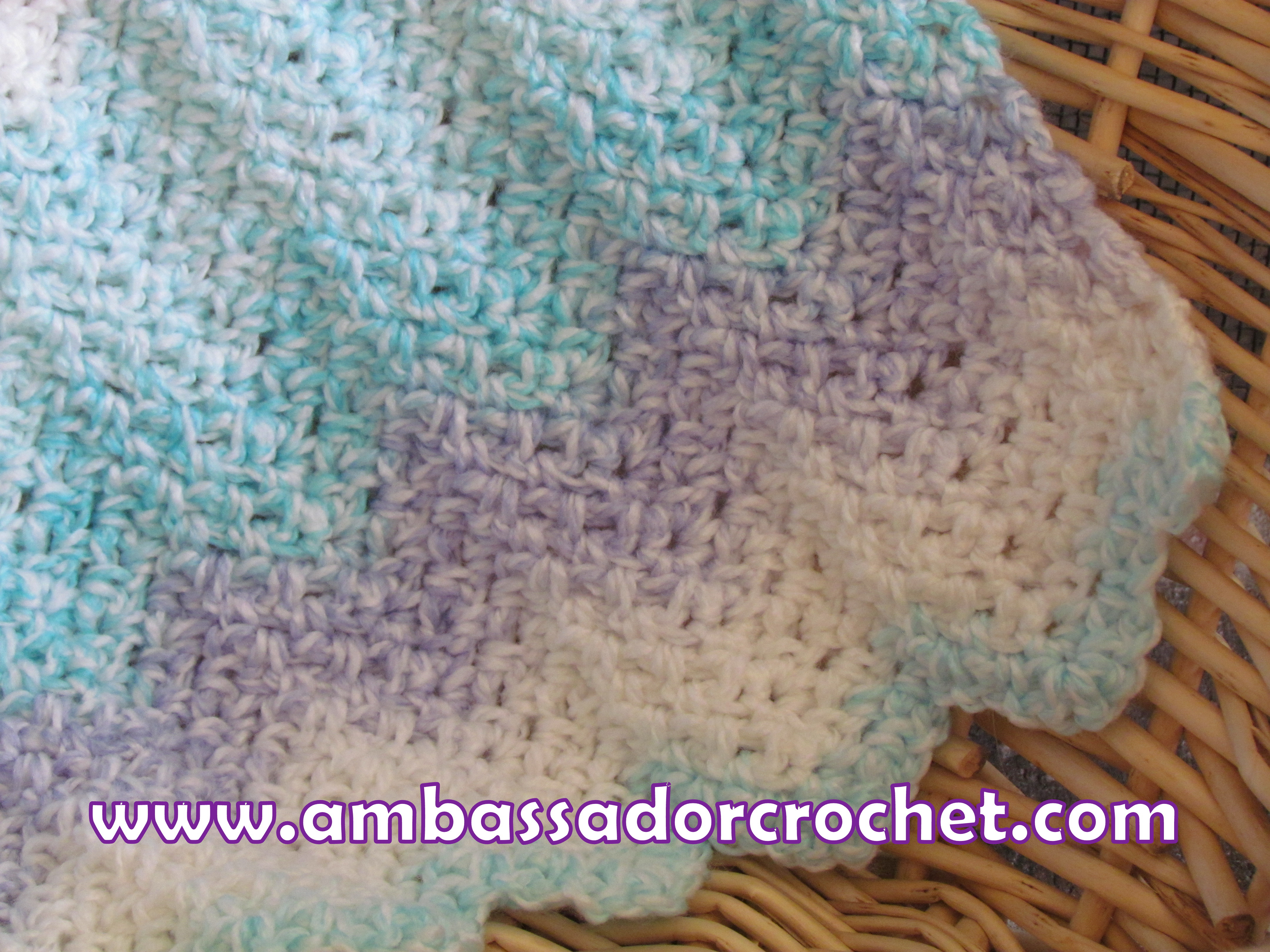 Crochet Chevron Baby Blanket Free Pattern Sleep Well With Free Crochet Patterns For Ba Blankets Crochet Crochetnstyle Com