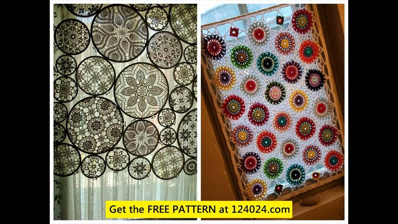 Crochet Curtain Patterns Filet Crochet Curtain Patterns Youtube Crochetnstyle Com