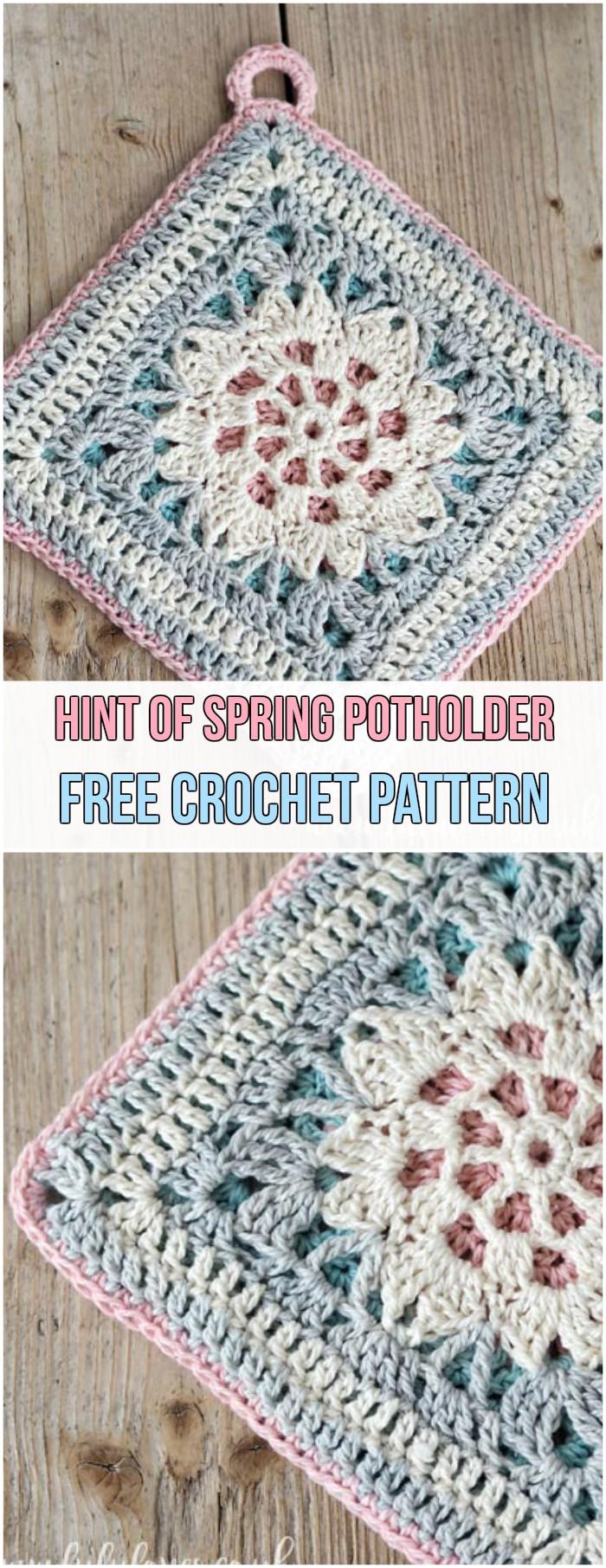 31 Amazing Free Crochet Potholder Patterns Crochetnstyle Com