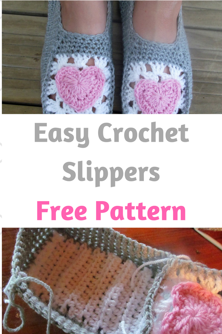 Easy Crochet Slippers For Adults Cheap Online