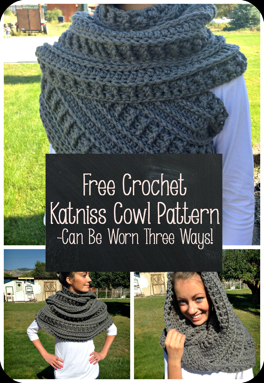 Snood Scarf Crochet Pattern Free Crochet Katniss Cowl ...