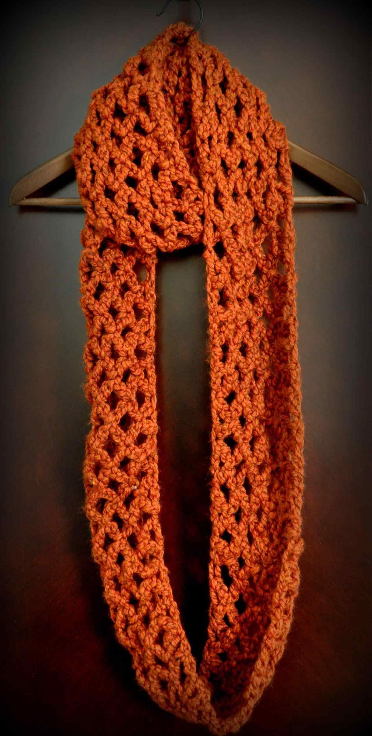 35 Elegant Super Bulky Yarn Crochet Scarf Pattern Crochetnstyle Com