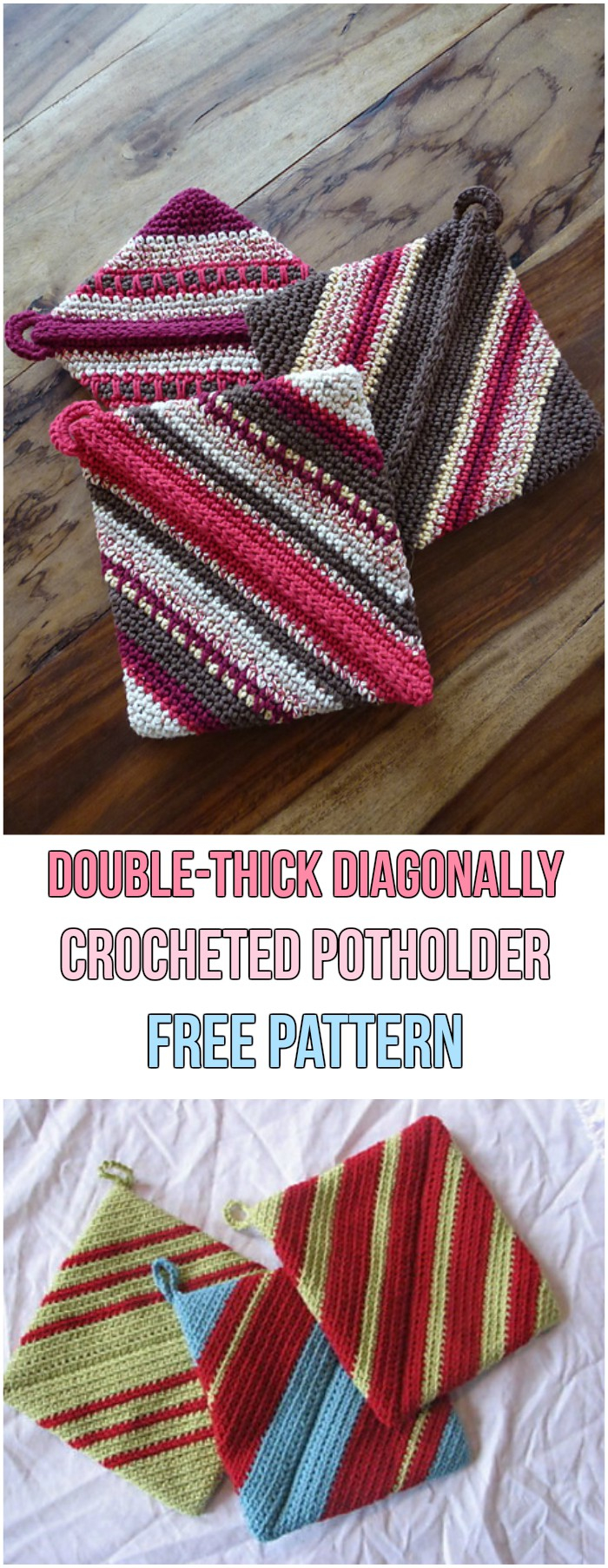 35 Great Thick Crochet Potholder Pattern Crochetnstyle Com